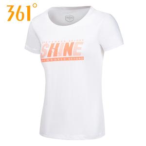 361正品包邮夏季女运动上衣轻薄透气舒适甜美女短袖T恤561729804A