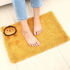 懒角落★创意家居 可爱动物 雪尼尔 浴室吸水防滑地垫 地毯 35459