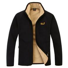 正品代购狼爪抓绒衣 男款 户外加厚开衫长袖保暖羊羔绒外套冲锋衣