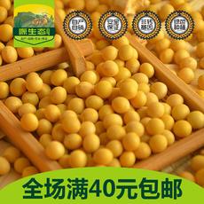 新黄豆打豆浆大豆东北大黄豆非转基因发豆芽土黄豆笨黄豆 500g