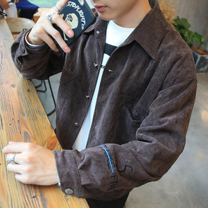 秋季衣服男装2016新款男生外套棒球长袖秋装原宿风潮流牛仔夹克薄棒球服