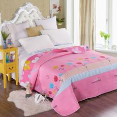 纯棉绗缝床盖单件衍缝被水洗夹棉床单密道垫两面可用全棉夏凉被子