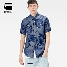 G-STAR RAW 2017春夏 男士轻质透气短袖衬衫
