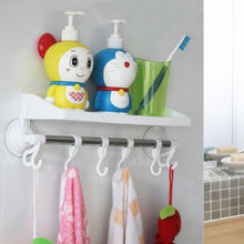 No punching toilet, wall hanging rack, kitchen bathroom rack, bathroom suction tray, towel rag rack.