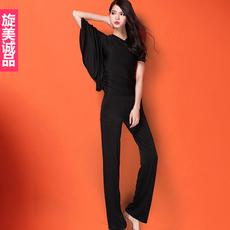 超显身高显瘦抬气场舞蹈裤练功长裤拉丁舞裤旋美诚品新款舞服伦巴