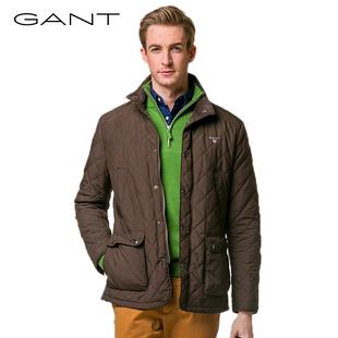 GANT/甘特冬季新品男士外套棉服男款夾棉厚休閑短款上衣 74817