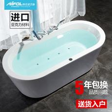 埃飞灵独立式泡泡按摩浴缸 豪华冲浪按摩浴缸浴盆泡泡浴新品