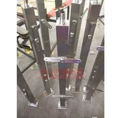 不锈钢楼梯立柱\\楼梯扶手/楼梯50方管阳台栏杆\\38方管立柱QC-B059