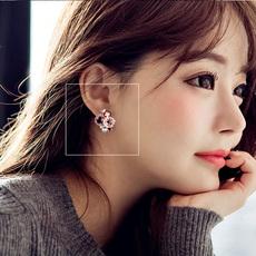 韩国进口精致手工波西米亚大耳钉耳环女饰品日韩时尚优雅气质耳饰