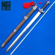 龙泉古羽宝剑刀剑 麒麟宝剑 重剑 镇宅辟邪剑 装饰礼品剑 未开刃