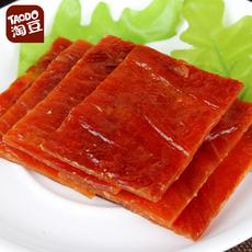 淘豆原味猪肉脯猪肉干250g休闲零食品靖江特产美食小吃独立小包装