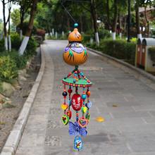 珞珞饰品 葫芦挂件中国特色礼品送老外出国中国风小礼物手工艺品