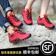 麦乐户xt鞋男女秋冬qp滑徒步鞋女透气越野运动鞋爬山鞋