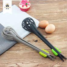 多功能xt质尼龙手动qp捞蛋器捞面厨房食品夹烧烤夹工具