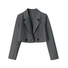 (小)宸 0u品质款 超u8领(小)西装外套女 春秋新式修身(小)西服上衣