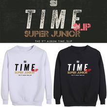SuperJunior专辑Time Slip1s19边应援ip宽松套头圆领卫衣女