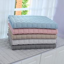 防滑飘窗垫窗台垫加厚亚麻1s9台垫四季ry米垫子床垫坐垫定做