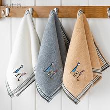 纯棉洗脸帕家用童巾长方形儿童柔软