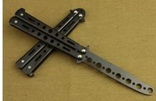 美国 入门级 蝴蝶刀防208用品练习0t全玩酷练习刀 未开刃刀