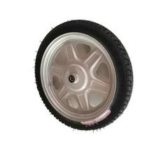 电动车28心胎2.71j4 三轮车轮胎防爆防刺防扎14寸实心胎橡胶外带