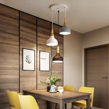 北欧个35三头餐厅灯gy现代吧台灯咖啡厅灯时尚创意马卡龙吊灯