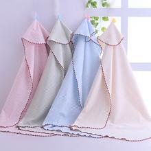 婴儿彩51包被秋冬式xl薄式抱毯被子裹布宝宝抱被襁褓包巾单被