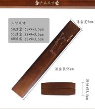 特价高51桐木漂盒加xl 60cm木质浮漂盒超轻浮标盒鱼漂盒渔具盒
