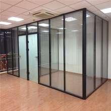 湖南长55办公室高隔la隔墙办公室玻璃隔间装修办公室