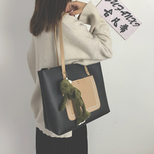 包包女552021新la大容量韩款托特包手提包女单肩包百搭子母包