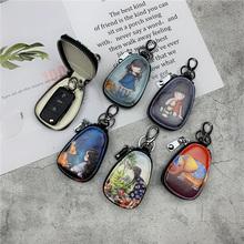 [5s5]可爱韩国真皮女士汽车钥匙