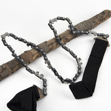 户外线5t链条锯子手jt手拉锯锯木露营便捷荒野求生装