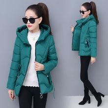 冬季新5t棉服女短式jt身加厚时尚冬装棉衣外套女装(小)棉袄潮