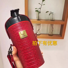 包邮 5v品韩国杯具vnddybear能量熊保温碱性矿物质能量水壶水杯