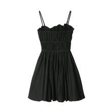 (小)宸 6g推!可盐可gs裙 抹胸吊带裙荷叶边裙摆收腰蓬蓬连衣裙