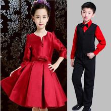 [7i2i]少儿朗诵表演服装男童礼服主持人套