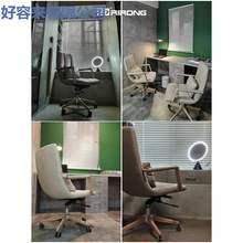 高档日85家具老板椅lfins风舒适真皮办公椅转椅个性大班椅电