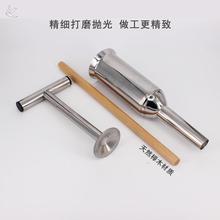 罐肠家8t手压灌香肠xy钢手动香肠机手推腊肠器做香肠工具