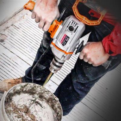 搅灰机98钻飞机钻腻56漆涂料水泥搅拌机打灰机搅拌钻电动电转