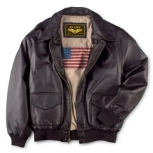 男士真99皮衣二战经51飞行夹克翻领加肥加大夹棉外套