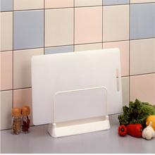 日本L9aC厨房菜板al架刀架灶台置物收纳架塑料 菜板案板沥水架