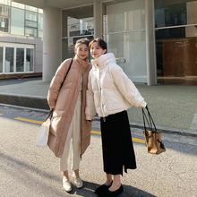 FFA9o泛泛 白色oq羽绒服女冬季(小)个子时尚