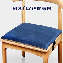 坐垫椅ab办公室汽车el椅垫记忆棉防滑沙发垫椅秋冬加厚屁股垫