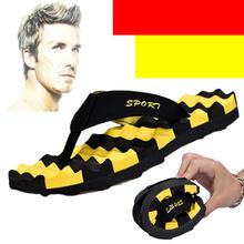 夏季的ab拖 拖鞋男el鞋厚底夹脚托鞋夹拖防滑耐磨按摩个性潮
