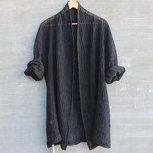 中国风ab装中式复古el麻衬衣大码亚麻衬衫男宽松短袖上衣t恤