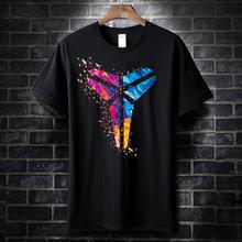 新式情侣纯棉T恤曼巴ad7神湖的短pt镜蛇星空logo圆领半袖衫
