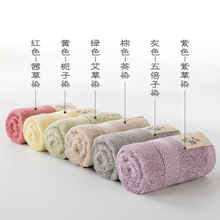 a类竹ae竹纤维毛巾no木染无荧光剂宝宝洗脸毛巾吸水洁面方巾