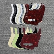 兼容Fafnder erzbass 10钉美芬电贝司面板墨芬电贝斯护板JB