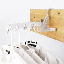 日本宿af用学生寝室ek神器旅行挂衣架挂钩便携式可折叠