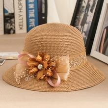 花朵草af子 女夏天ca滩帽防晒遮阳帽百搭海边太阳帽女士出游