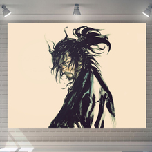 日式背ag布ins挂es墙床头布置卧室宿舍墙壁装饰墙上画布